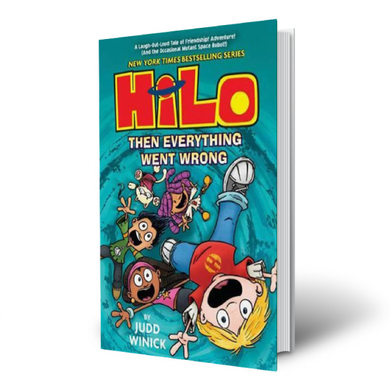 Hilo Book 5 by WINICK JUDD