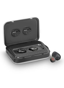 Promate Wireless Earbuds With 5000 Mah Power Bank Silver