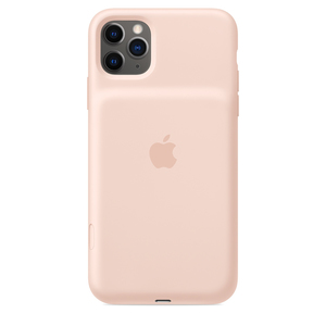 Iphone 11 Pro Max Smart Battery Case With Wireless Charging Pink Sand