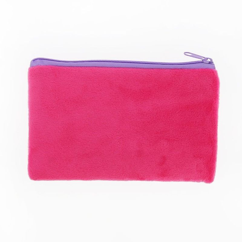 Novelty Pencil Case Short Plush In 1C