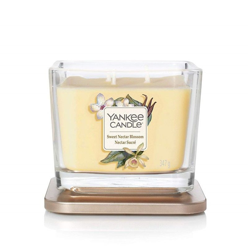 Yankee Candle Elevation Vessel Candle Sweet Nectar Blossom M