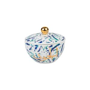 Fairuz Sugar Bowl‏ With Gold 22 Carat
