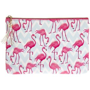 Flamingo Bay Clutch
