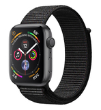 Apple Watch Series 4 Gps 44Mm Space Grey Aluminium Case With Black Sport Loop