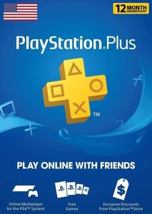 Playstation Plus 12 Months Us Store