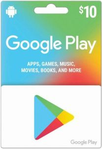 Google Play 10 Us Store