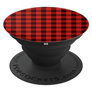 Popsockets Classic Check Red Bk
