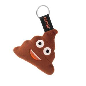 Emoji Poop Official Brown Keychain