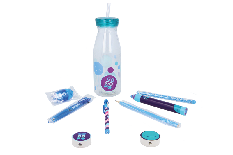 GoGoPo Blue Milk Bottle Bundle