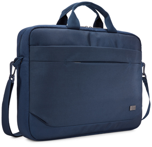 "6"" Attaché notebook case 39.6 cm (15.6"") Messenger case Blue"
