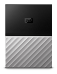 Western Digital My Passport Ultra external hard drive 1000 GB Black,Grey