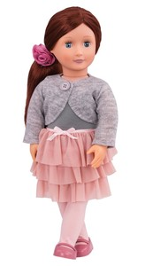 Doll W Frilly Skirt