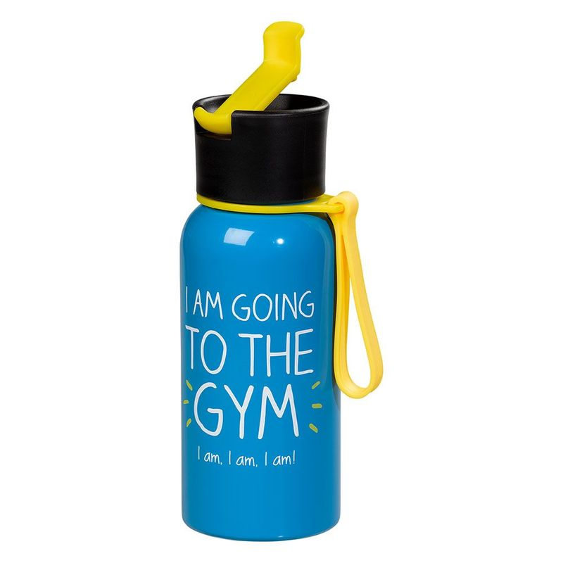Happy Jackson I Am Going To The Gym Water Bottle 600ml