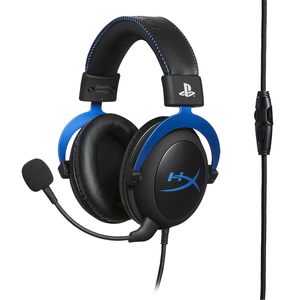 Hyperx Cloud Binaural Head-Band Black,Blue