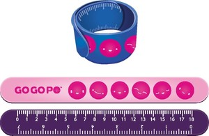 GoGoPo Snap Band Ruler [1 Pack]