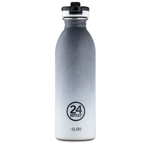 24 Bottles Urban with Sports Lid 500ml Tempo Grey
