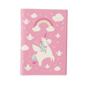 Rainbow Unicorn Passport Holder