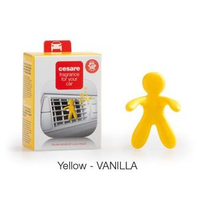 Cesare for car yellow vanilla