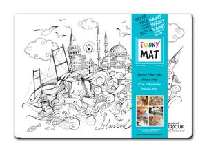 Funny Mat Activity Placemat Istanbul