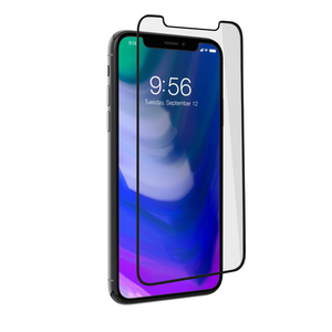 Zagg Invisible Shield Glass Plus Contour Black Screen Protector for iPhone X