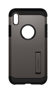 Spigen Tough Armor Mobile Phone Case 14.7 Cm (5.8 Inch) Cover Black/Grey