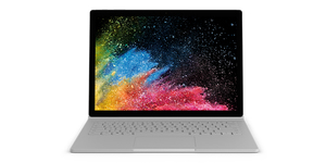 "Microsoft Surface Book 2 Silver Hybrid (2-in-1) 34.3 cm (13.5"") 3000 x 2000 pixels Touchscreen 1.90 GHz 8th gen Intel® Core™ i7 i7-8650U"