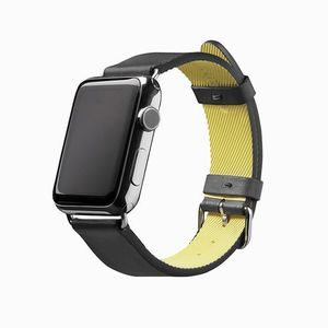 Active Strap Luxurt Leather Edition Forapple Watch 42 Black