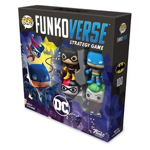 Pop Funkoverse Dc Comics 100 Base Set
