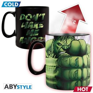 Marvel mug heat change 460 ml hulk smash