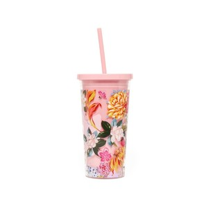 Ban.Do Sip Sip Tumbler With Straw Garden Party