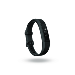 Fitbit Alta HR Black/Gunmetal Heart Rate + Fitness Wristband [Large]