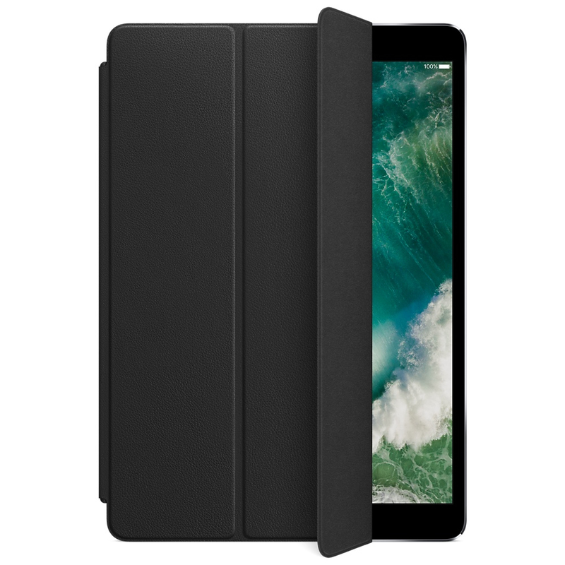 Apple Leather Smart Cover Black For iPad Pro 10.5-Inch
