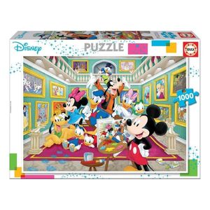 1000 Mickey Art Gallery Puzzle