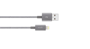 Moshi Integra Lightning Cable Titanioum Grey