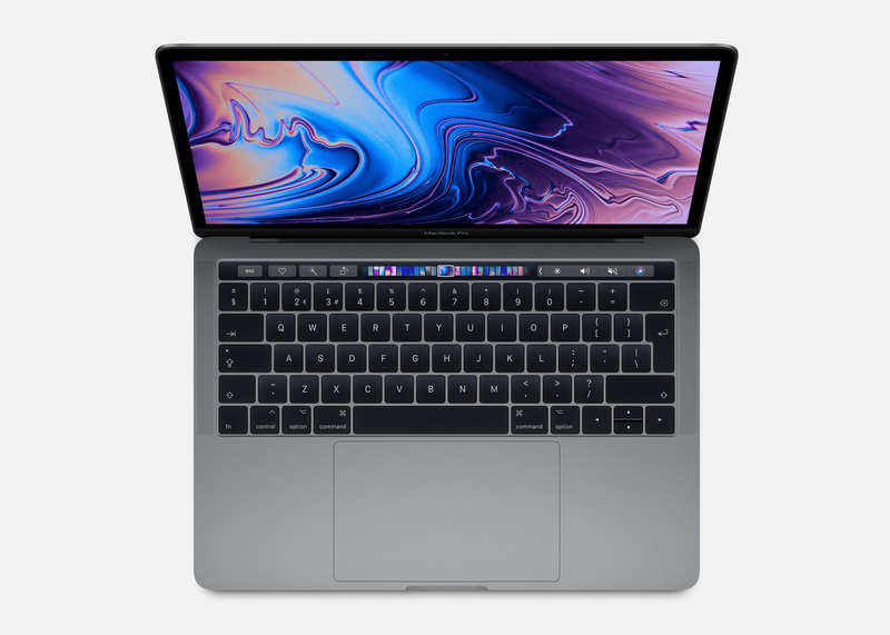 Macbook Pro 13-Inch With Touch Bar Space Grey 2.4Ghz Quad-Core 8Th-Generation Intel-Core I5/256Gb Arabic/English