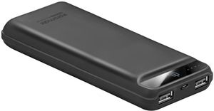 Promate 20000Mah Ultra Fast Charging Power Bank Black