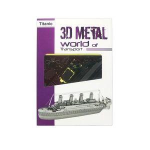Promotional 3D Metal World Titanic Puzzle