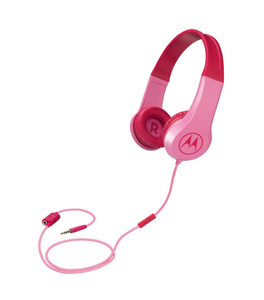 Motorola Squads 200 mobile headset Binaural Head-band Pink