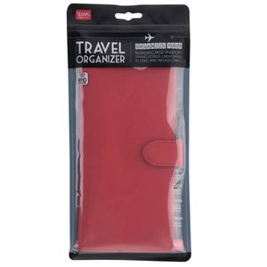 Travel Organizer Red