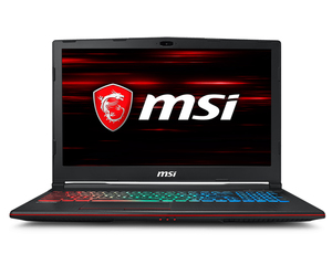 "MSI Gaming GP63 8RE Leopard 2.2GHz i7-8750H 15.6"" Black Notebook"
