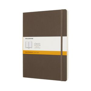 Moleskine Qp621P14 Nb Xl Rul Earth Brown Soft