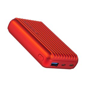 Promate Rugged Power Bank with USB C Red