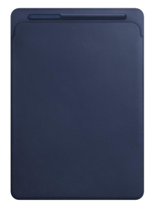 Apple Leather Sleeve Midnight Blue for iPad Pro 12.9-Inch