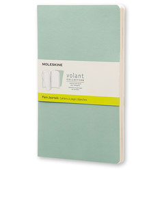 Moleskine Volant Large Plain Seaweed Green Journal