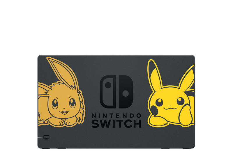 Nintendo Switch 32GB Pokemon Let's Go Pikachu Edition [US] + Poke Ball Plus