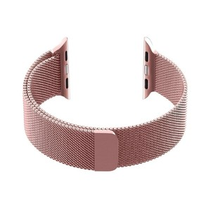 Promate Magnetic Milanese Loop 42Mm Apple Watch Pink