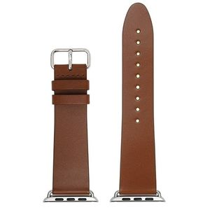 ACTIVE STRAP Luxurt LEATHER EDITION forApple Watch 42 Brown