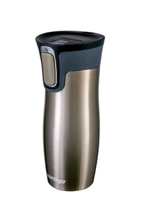 Stainless steel double wall vacuum insulated tumbler latte 16oz 470ml