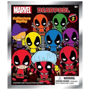 Monogram Marvel Deadpool Collectible Keyring [Mystery Pack]
