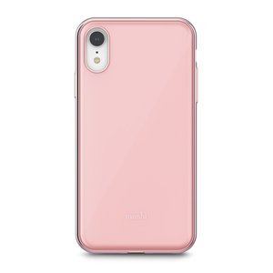 Moshi iGlaze mobile phone case 15.5 cm (6.1) Shell case Pink